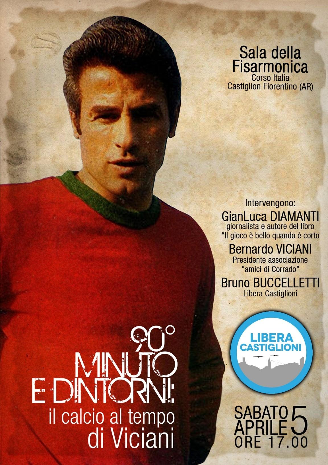 Serata evento a Castiglioni in ricordo di Corrado Viciani