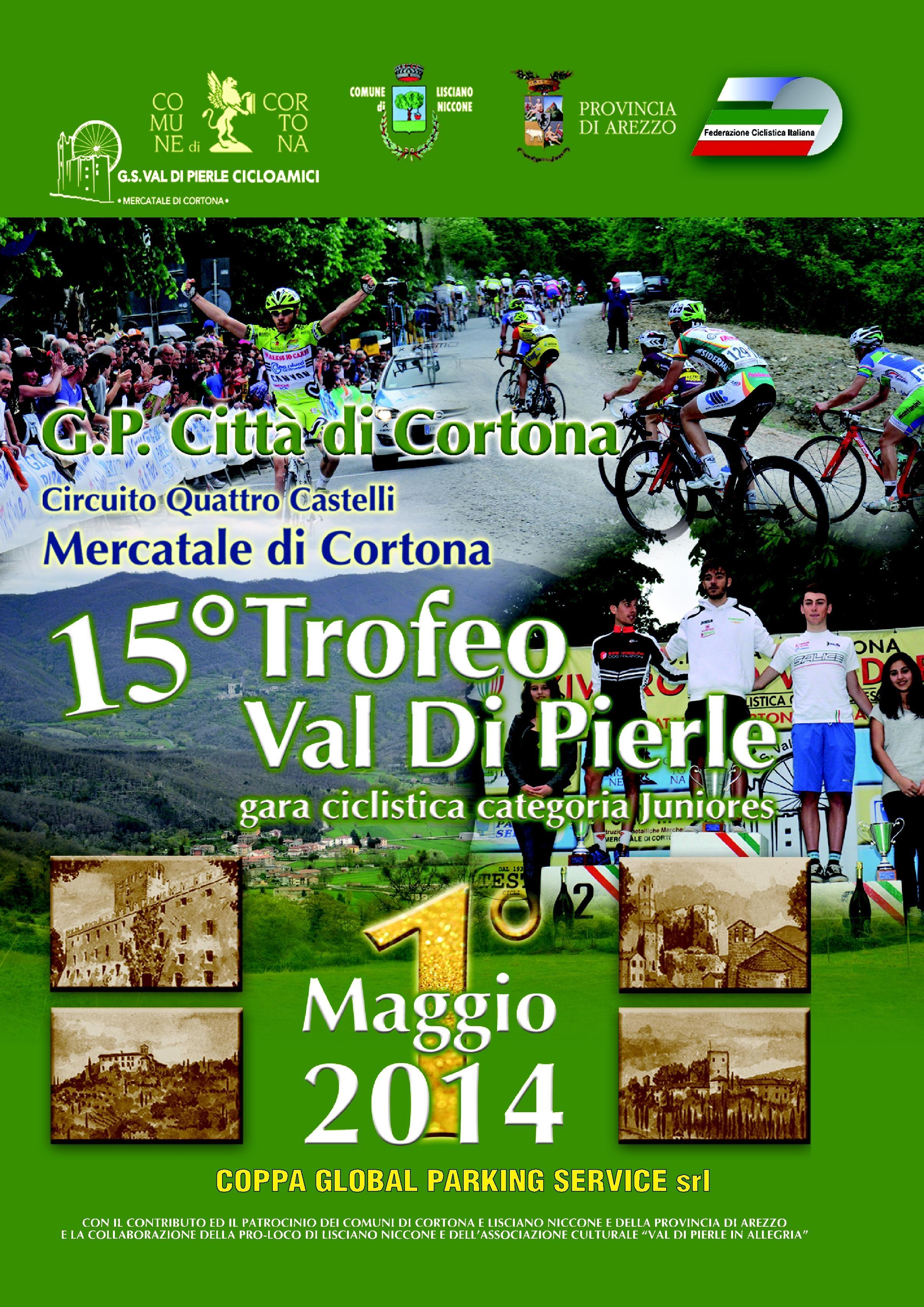 Ciclismo: conto alla rovescia per il Trofeo Val di Pierle