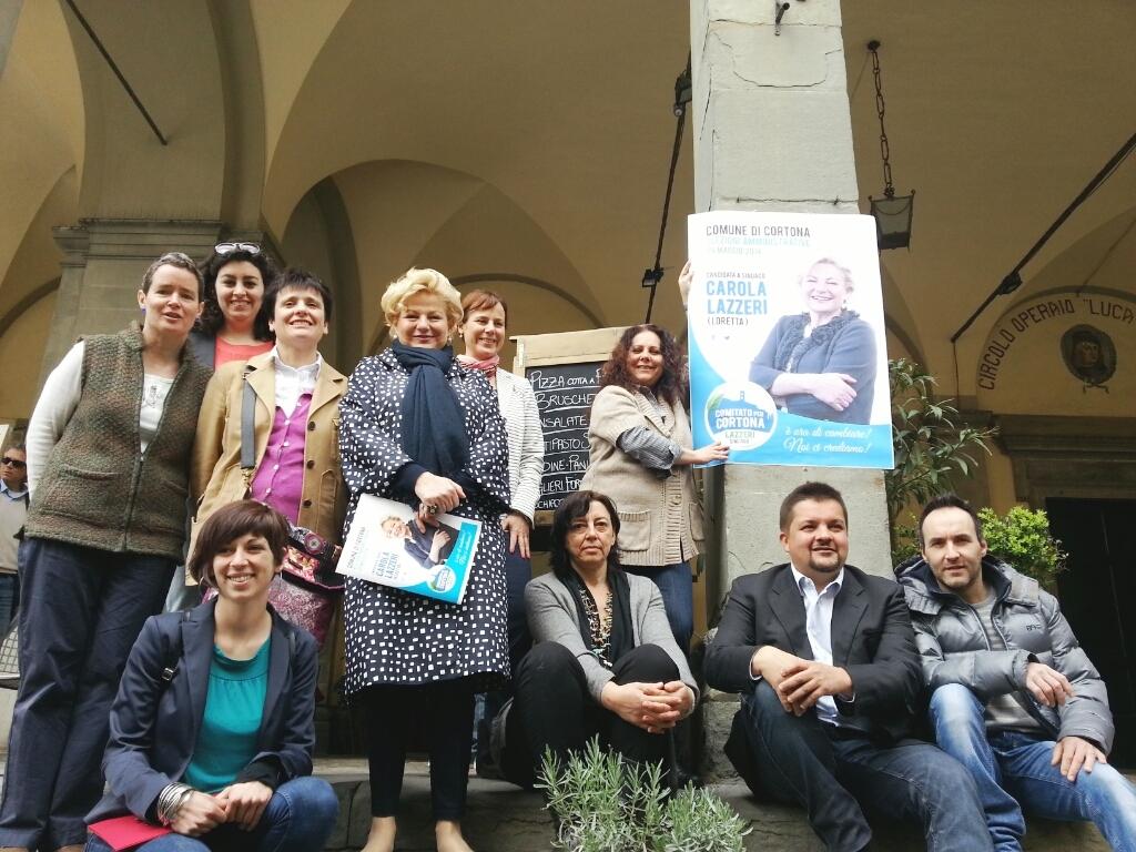 Nasce la lista Comitato per Cortona, candidata a Sindaco Carola Lazzeri