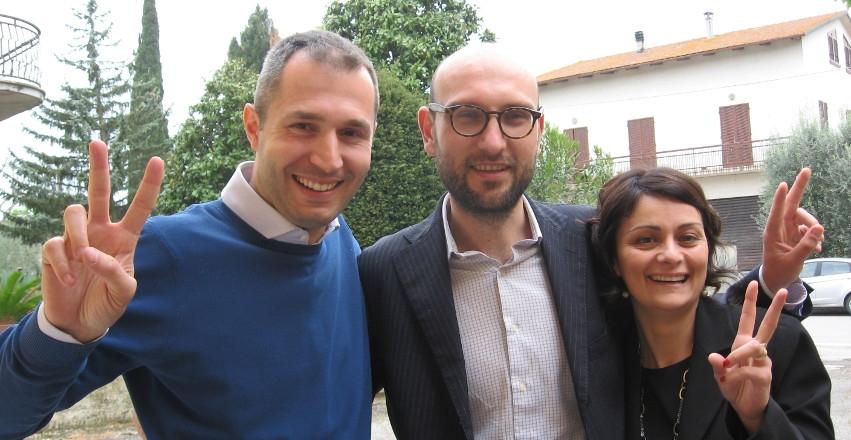 Cortona, una costruttiva chiacchierata con Francesca Basanieri e l'On. Marco Donati