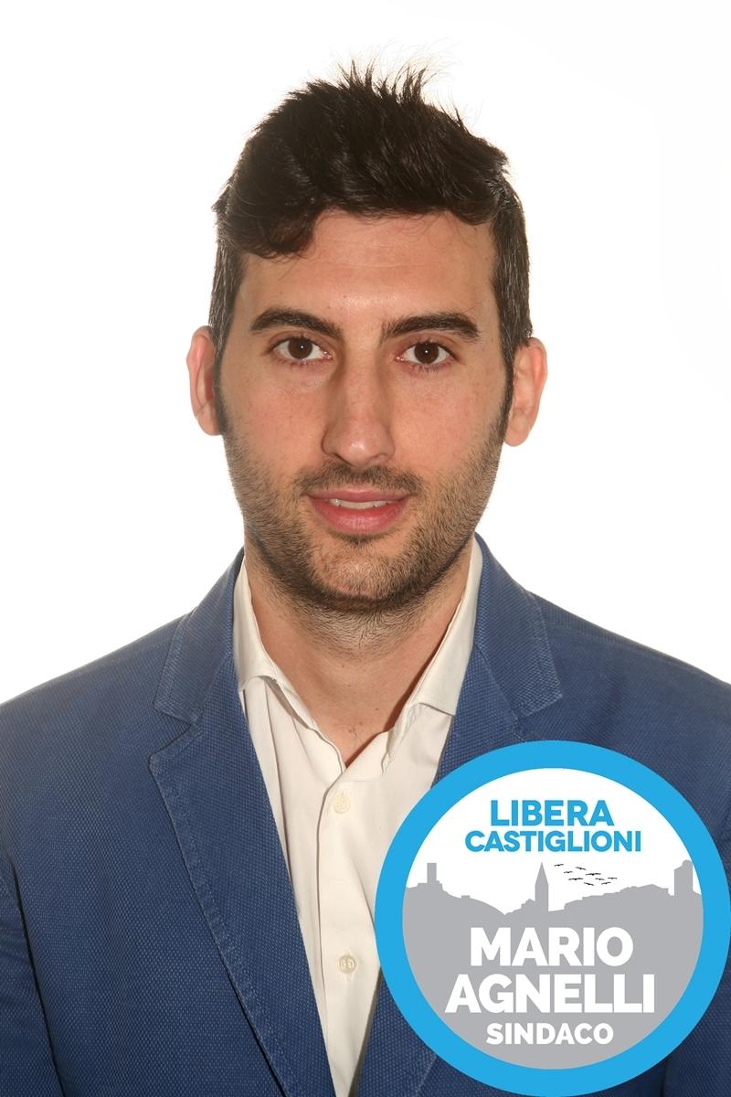 Luca Fabianelli, candidato a consigliere per la lista civica