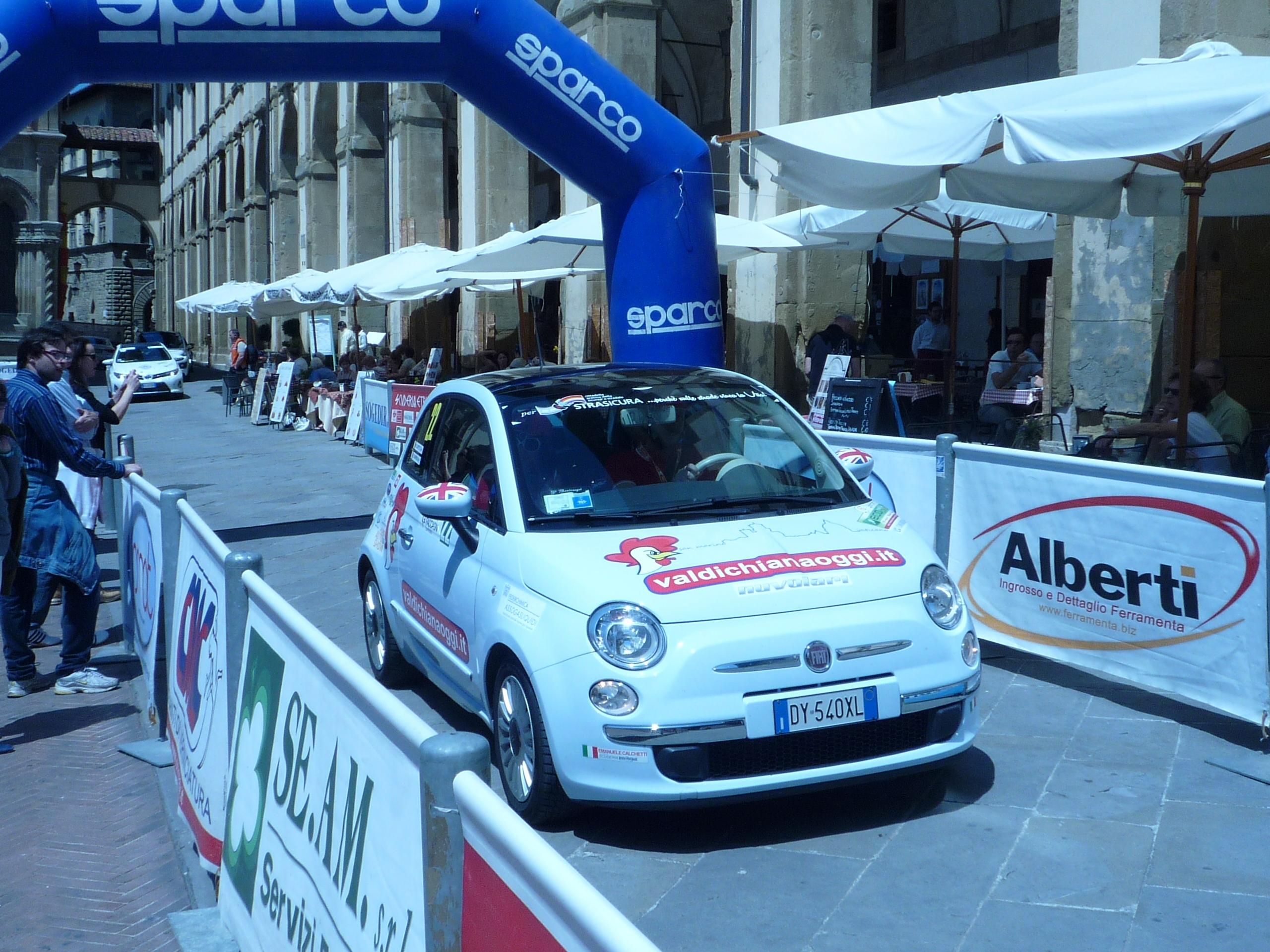 Valdichianaoggi Rally Team: un debutto (per ora) sorprendente!