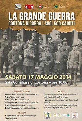 La Grande Guerra: Cortona ricorda i suoi caduti