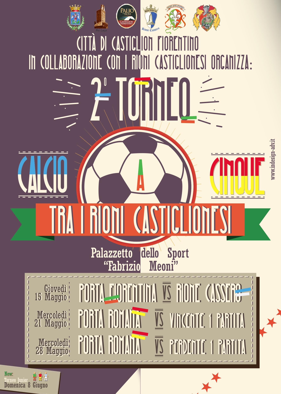 Torneo Rionale di calcetto a Castiglion Fiorentino