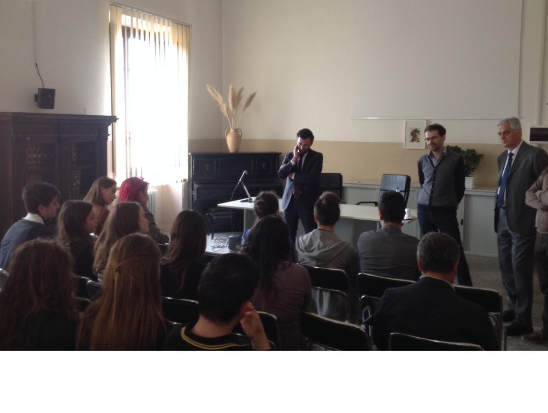 Visita del Sottosegretario all'Istruzione Toccafondi a Castiglion Fiorentino