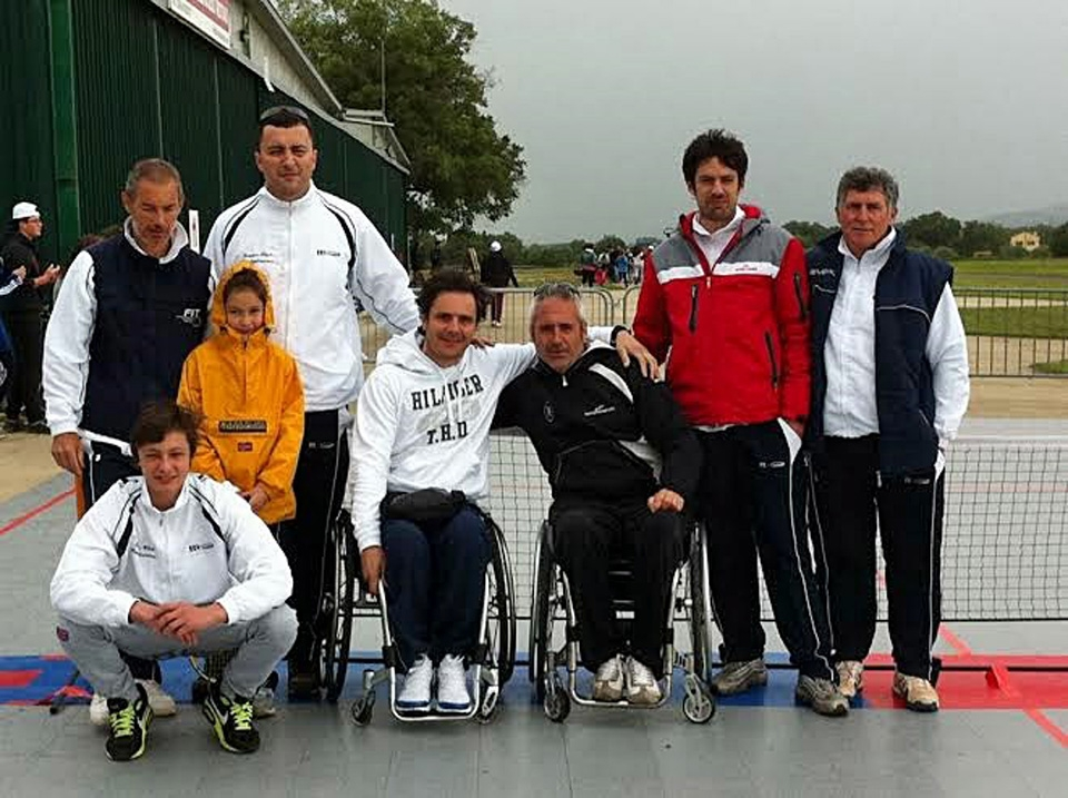Al Tennis Club Castiglionese il Torneo dedicati ad atleti diversamente abili