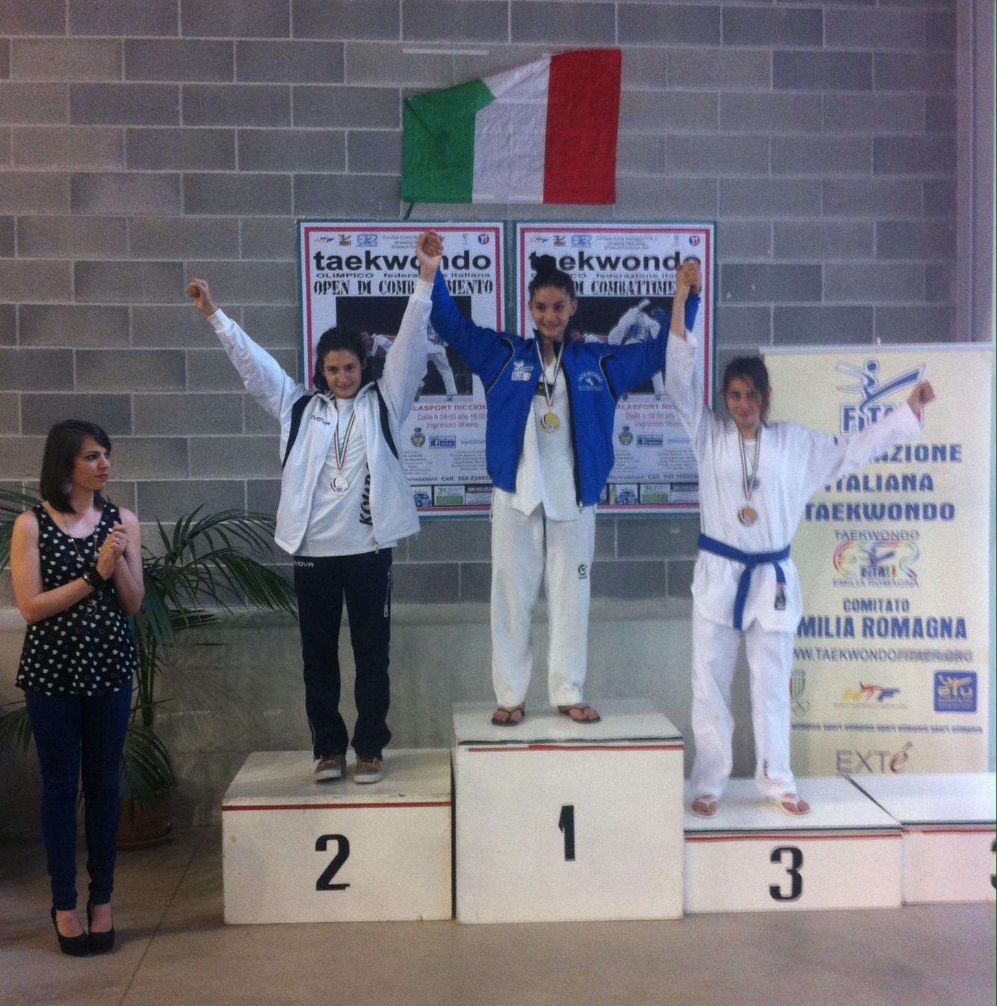Teakwondo: la Kouros brilla agli interregionali di combattimento