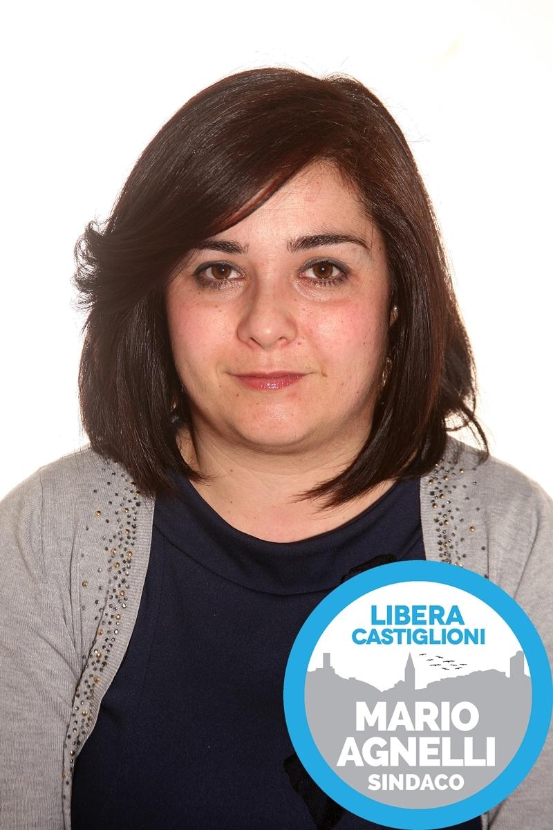 Carmen Repola, candidata della lista Libera Castiglioni - Mario Agnelli Sindaco