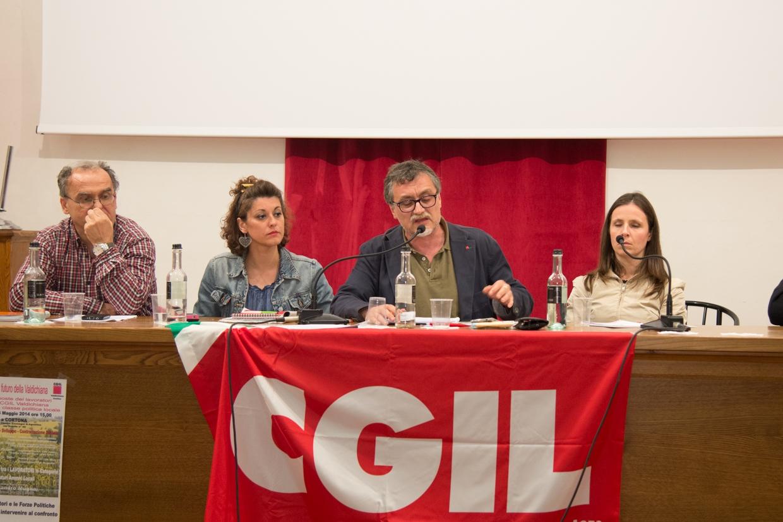 La CGIL in assemblea con i candidati a Sindaco della Valdichiana