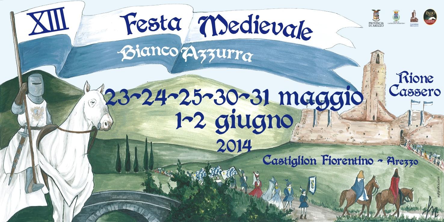 A Castiglioni al via la Festa Medievale Biancazzurra