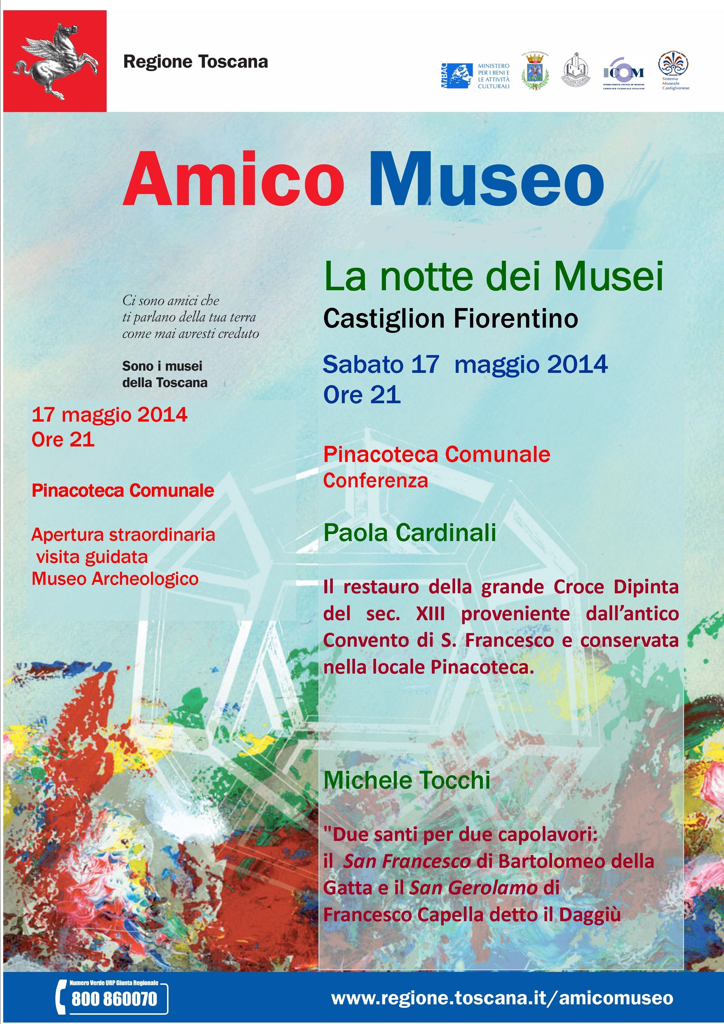 A Castiglioni iniziative per la Notte Europea dei Musei