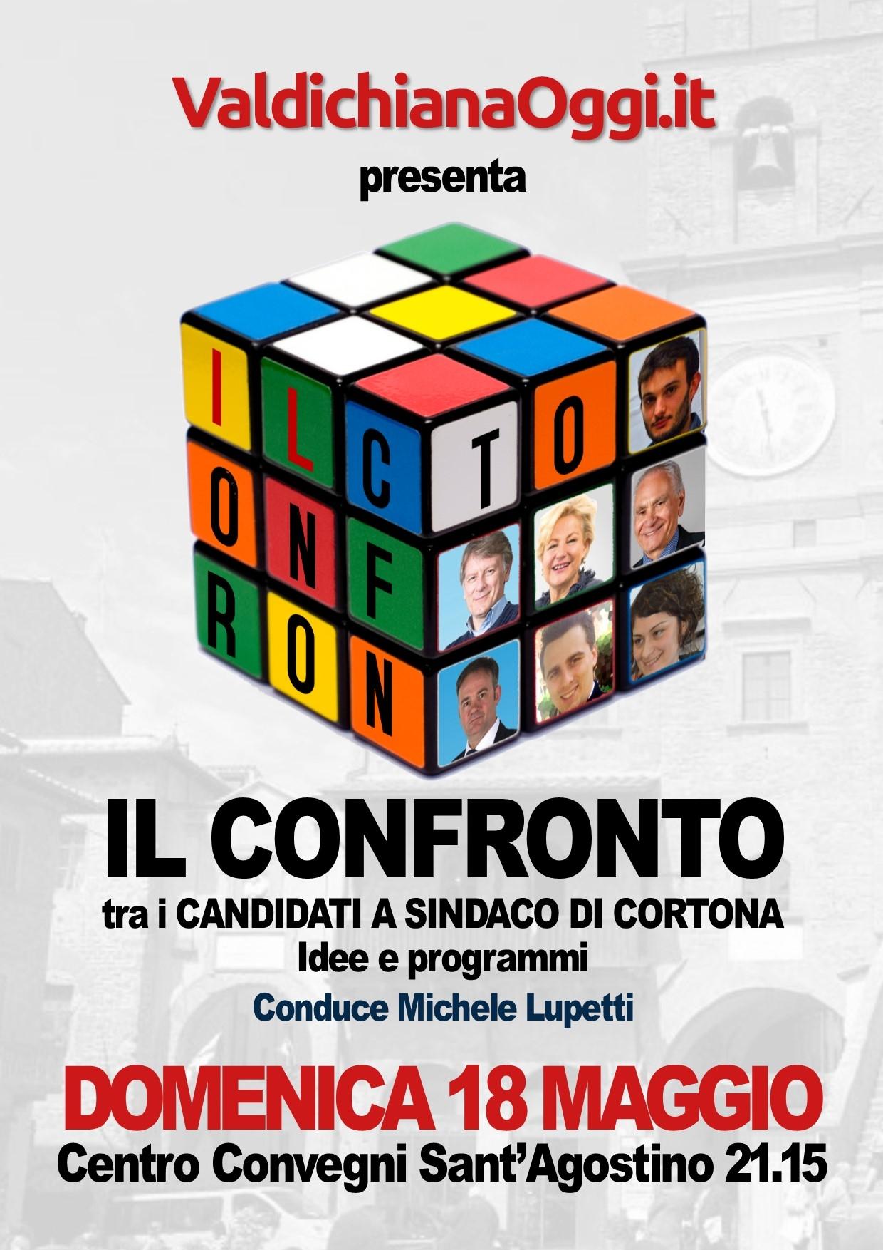 Il confronto fra i candidati a Sindaco di Cortona... da non perdere!