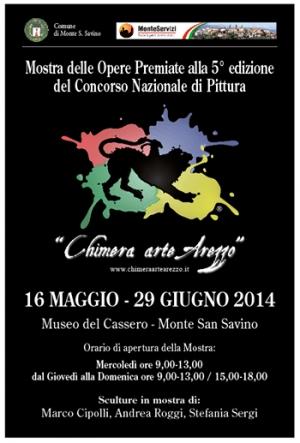 A Monte San Savino la mostra con le opere di Chimera Arte