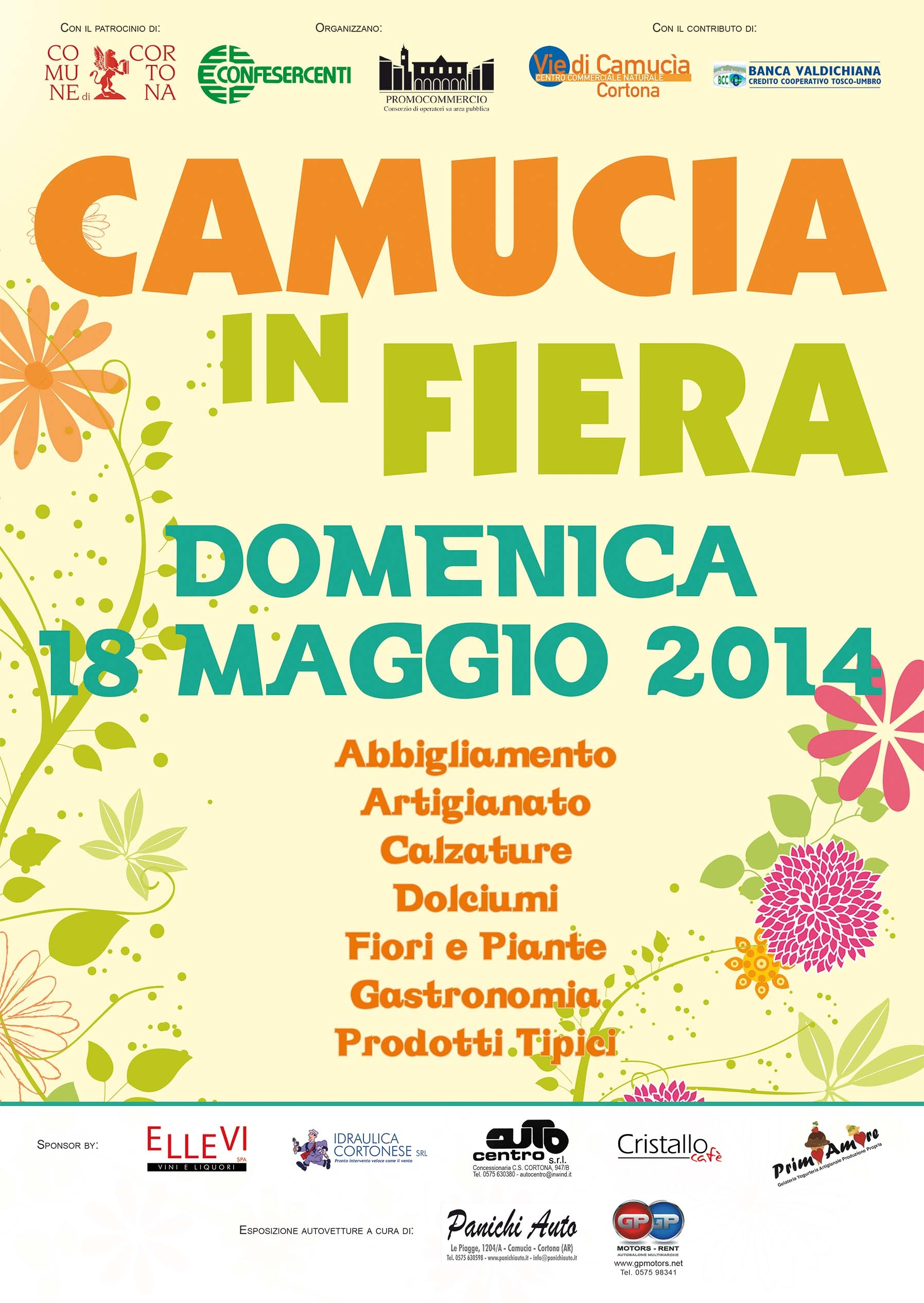Camucia in Fiera: una domenica di divertimento e shopping