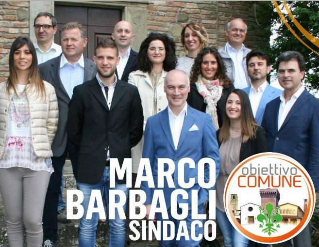 Marciano, presentata la lista Obiettivo Comune per Marco Barbagli Sindaco