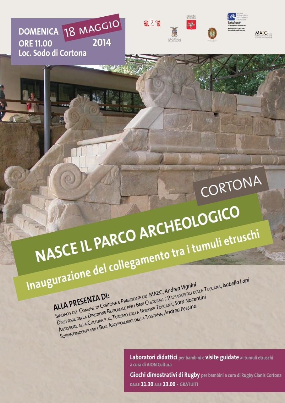 Domenica 18 l'inaugurazione del Parco Archeologico di Cortona