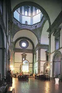 Cortona, la Chiesa del Calcinaio fra i