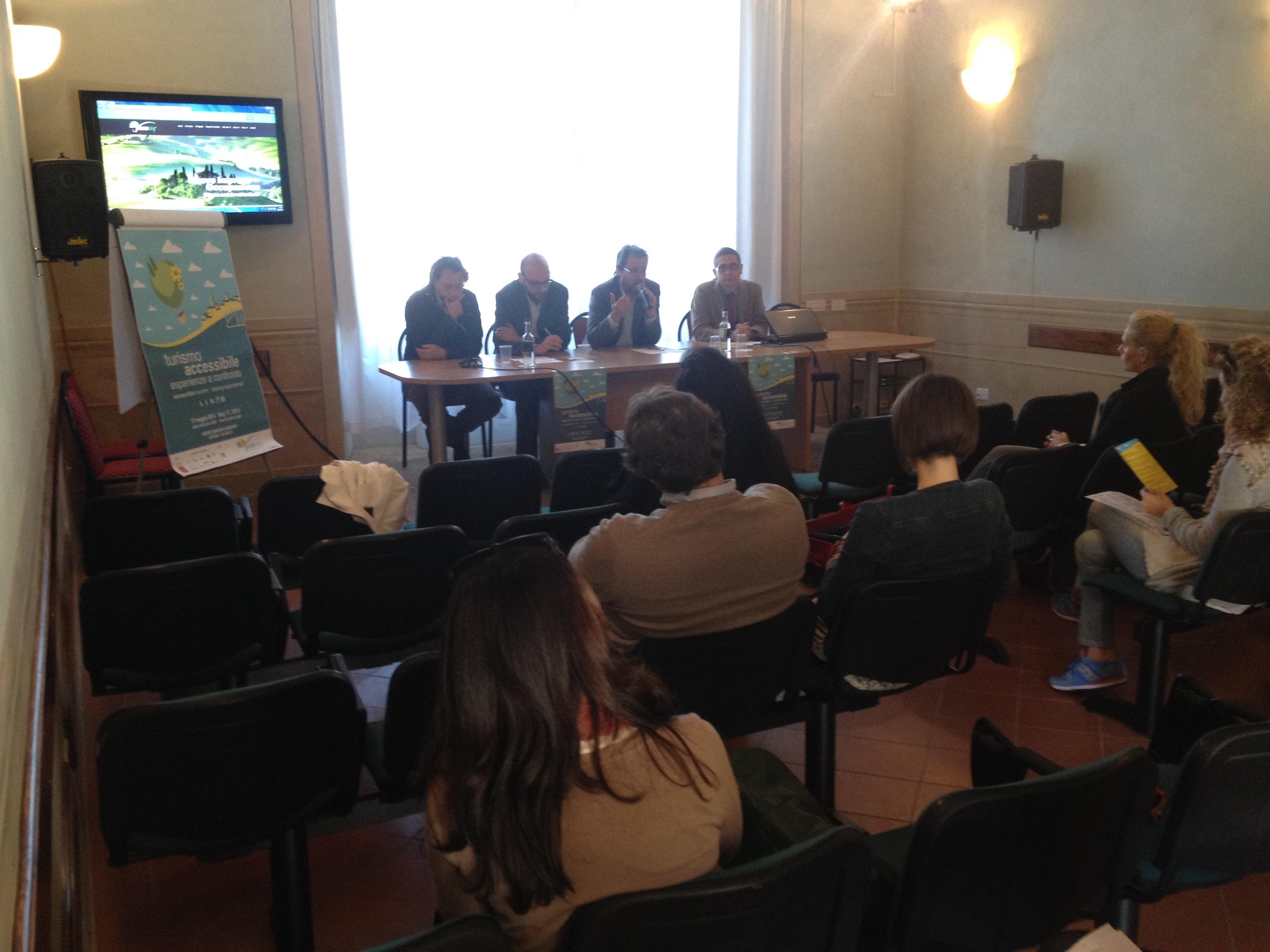A Cortona convegno sul turismo accessibile, esperienze a confronto
