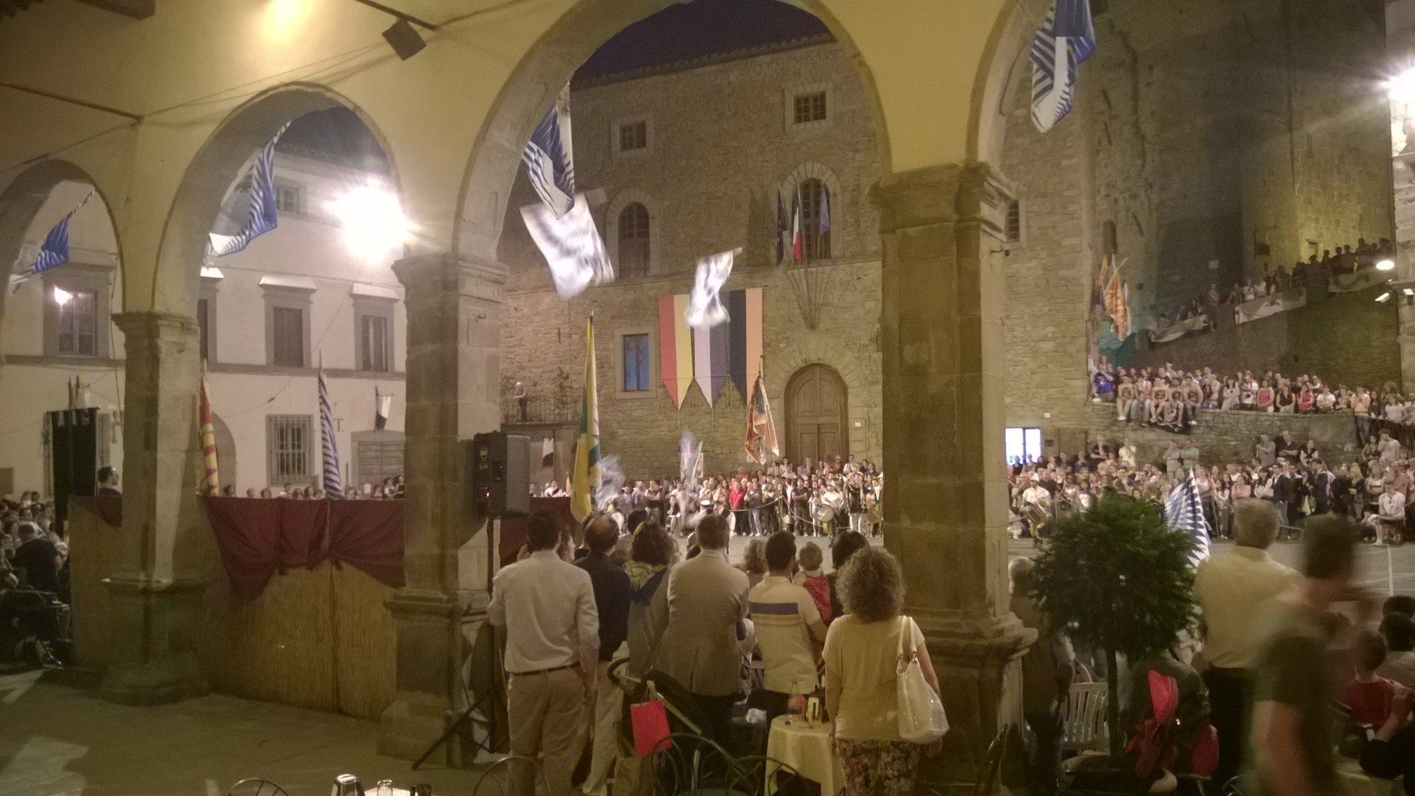 Porta Fiorentina vince la Gara dei Musici e degli Sbandieratori