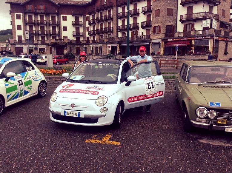 Valdichianaoggi Rally Team quarto al Sestriere...e ora Monza!
