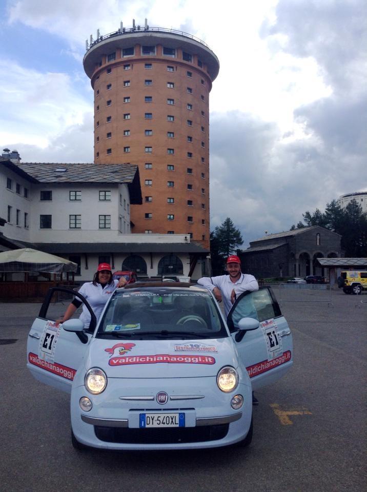 Rally Sestriere, day 1: per il Valdichianaoggi Team un recupero alla Mennea!