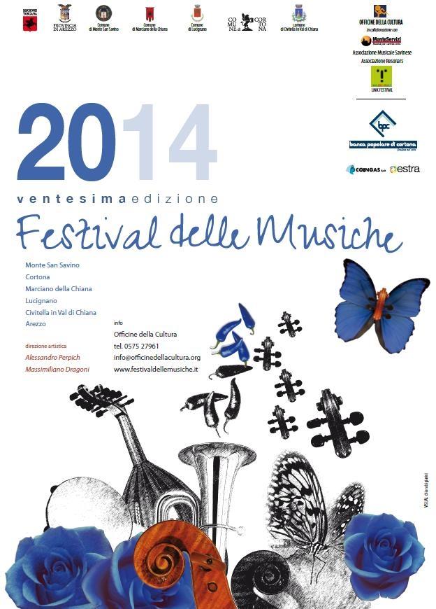 Festival delle Musiche: tradizione e contaminazione dal 14 Luglio al 9 Agosto