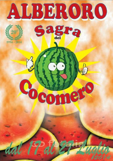 Sagra del Cocomero ad Alberoro dal 17 Luglio