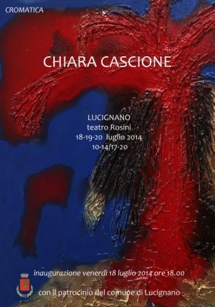 Personale di Chiara Cascione al Rosini di Lucignano