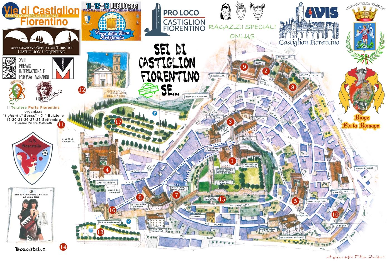Pubblicato il programma di eventi a Castiglion Fiorentino