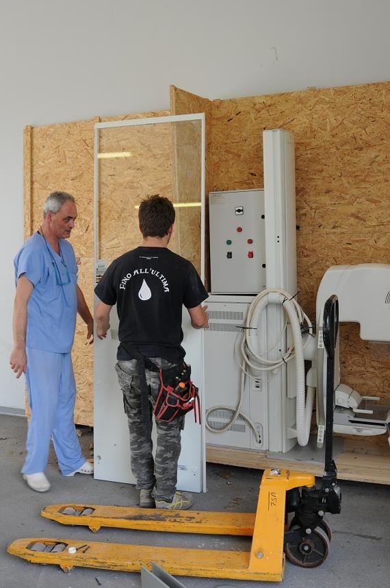Solidarietà in buone mani: un mammografo in viaggio da Fratta alla Sierra Leone