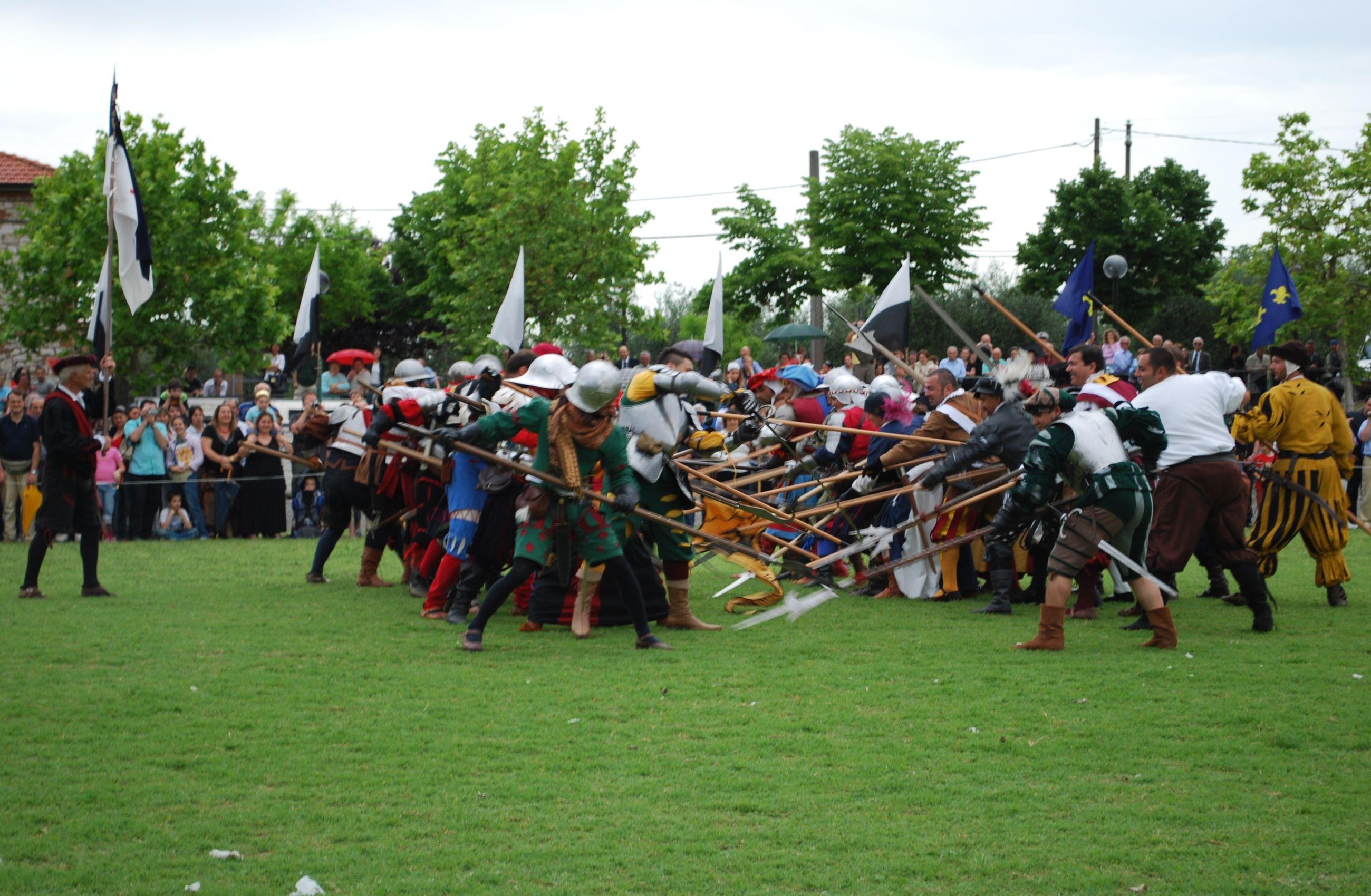 Torna la rievocazione storica della battaglia di Scannagallo