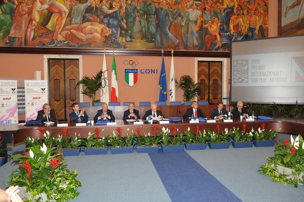 Fair Play 2014: Domenicali, Birindelli, Davydova, Campriani tra i premiati