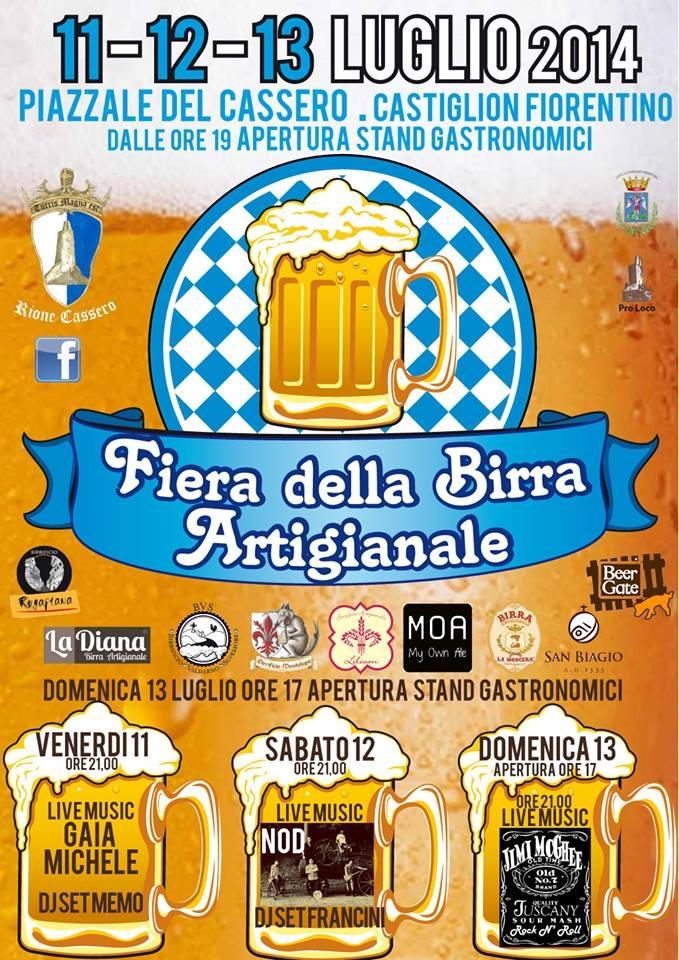 La Birra Artigianale protagonista della 3 giorni del Rione Cassero