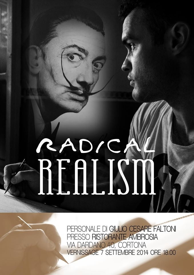 Radical Realism, la mostra di Giulio Cesare Faltoni al Ristorante Ambrosia di Cortona