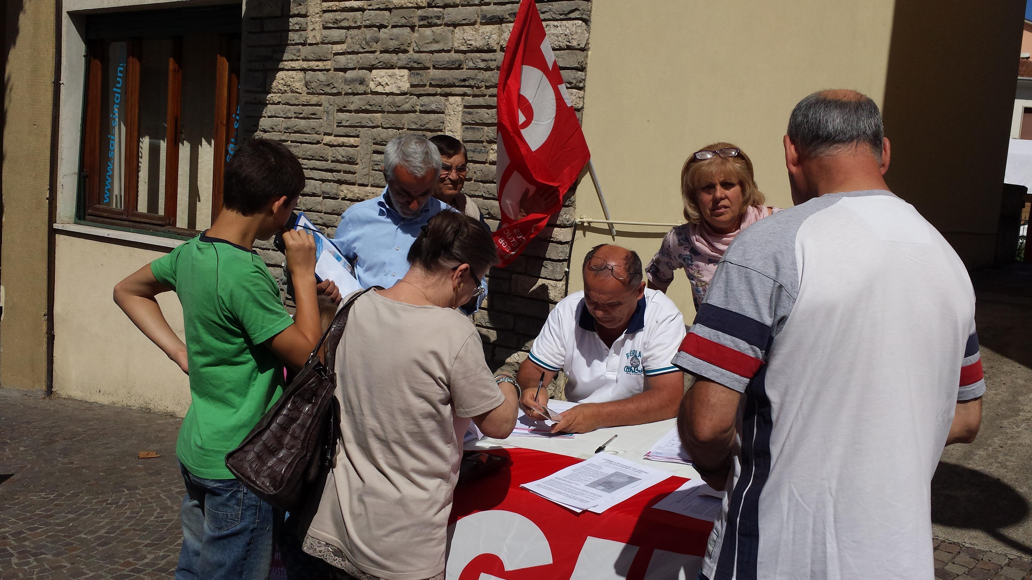 No austerità, Sì all'Europa del lavoro, nasce il comitato referendario in Valdichiana