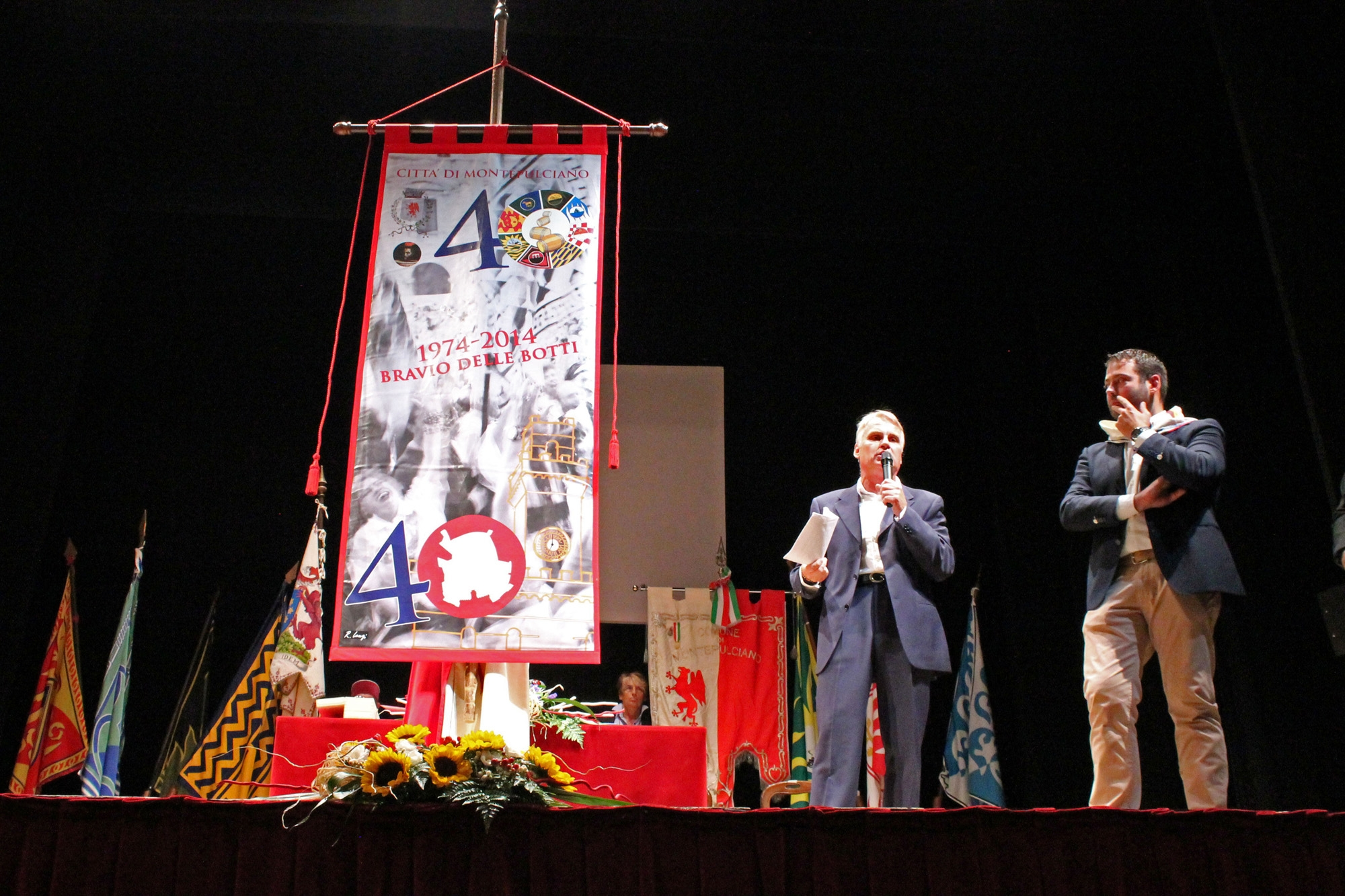 Svelato il Panno del Bravìo di Montepulciano