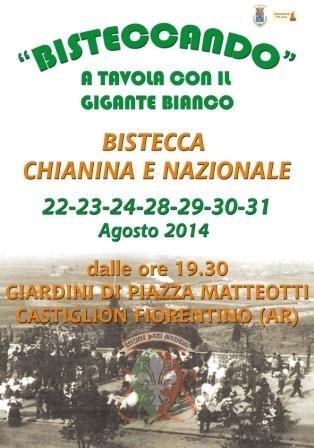 Bisteccando: la Chianina protagonista col Terziere Porta Fiorentina