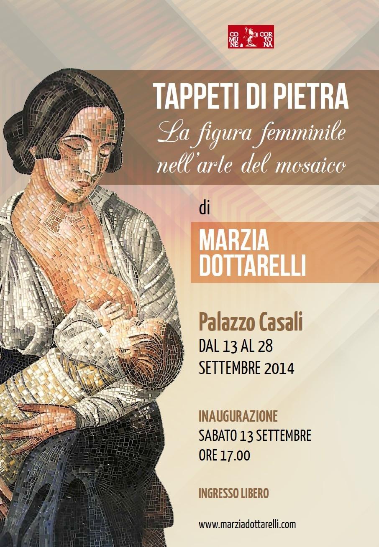 Tappeti di pietra, la mostra di Marzia Dottarelli a Cortona