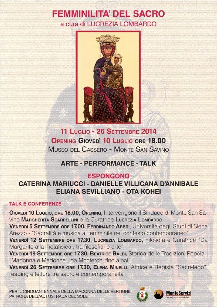 A Monte San Savino ciclo di conferenze per la mostra