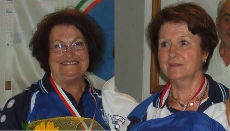 Ai campionati italiani di bocce argento per la cortonese Tommasina Fiorenzi