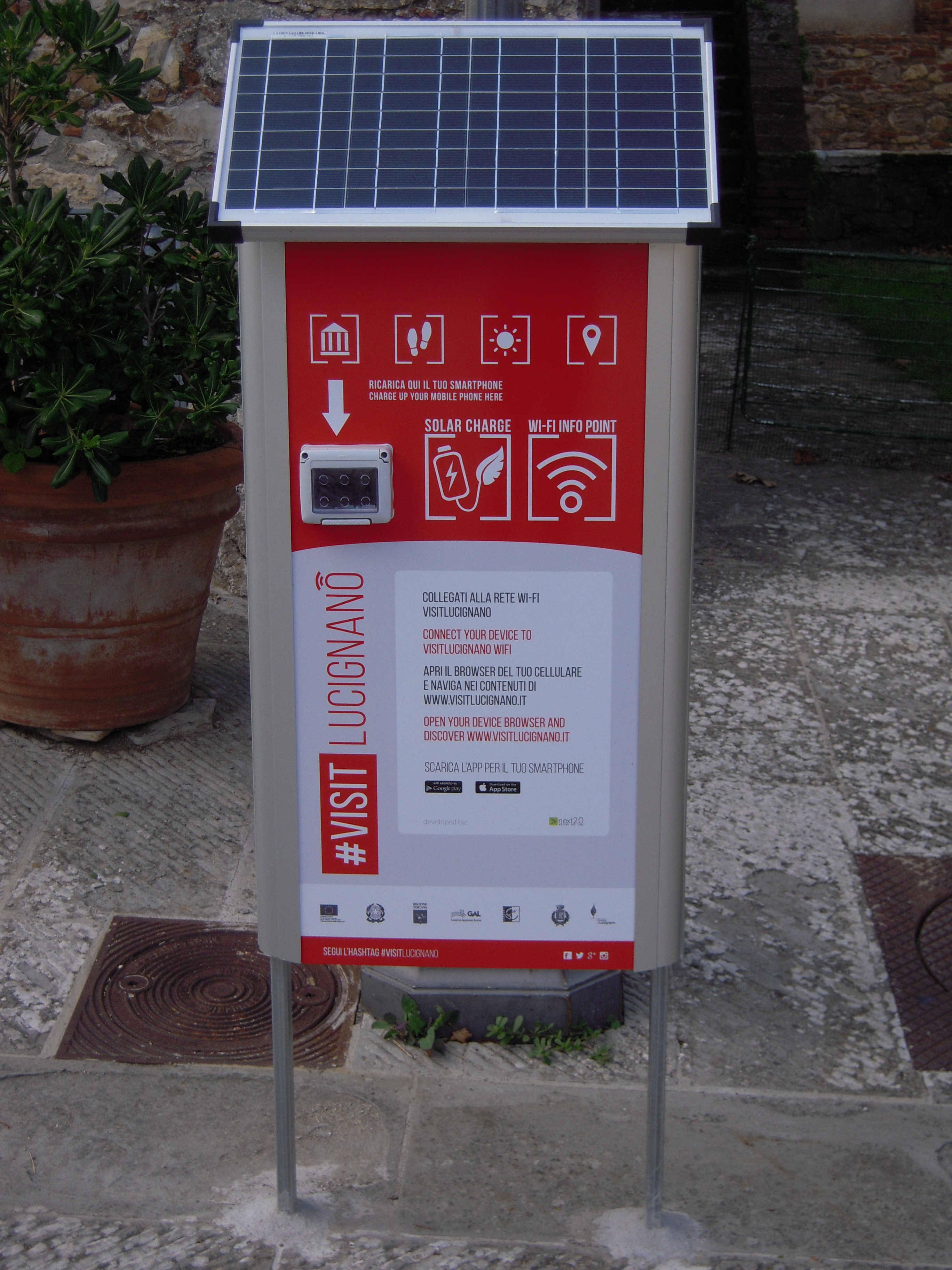 #VisitLucignano: l'innovazione tecnologica al servizio del turismo