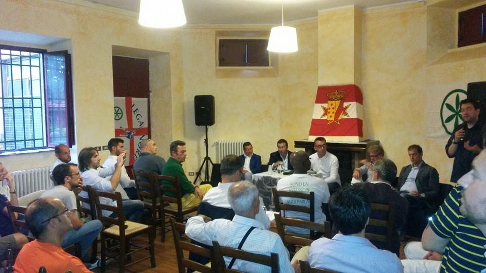 La Festa Provinciale di Lega Nord a Cortona: trionfo della buona politica