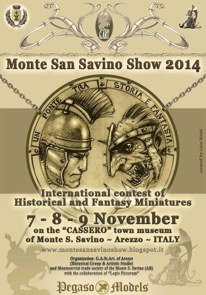 'Monte San Savino Show', torna l'appuntamento con il modellismo storico e Fantasy