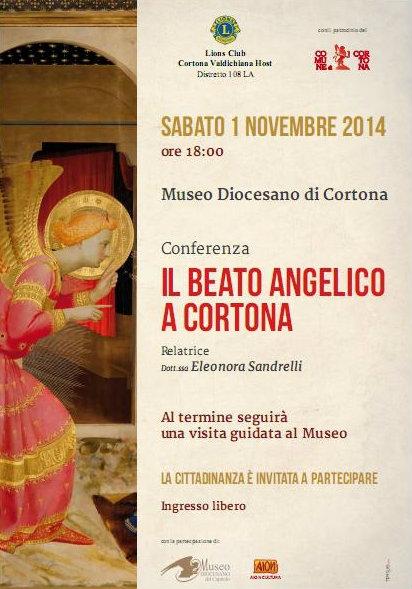 'Il Beato Angelico a Cortona', conferenza al Museo Diocesano