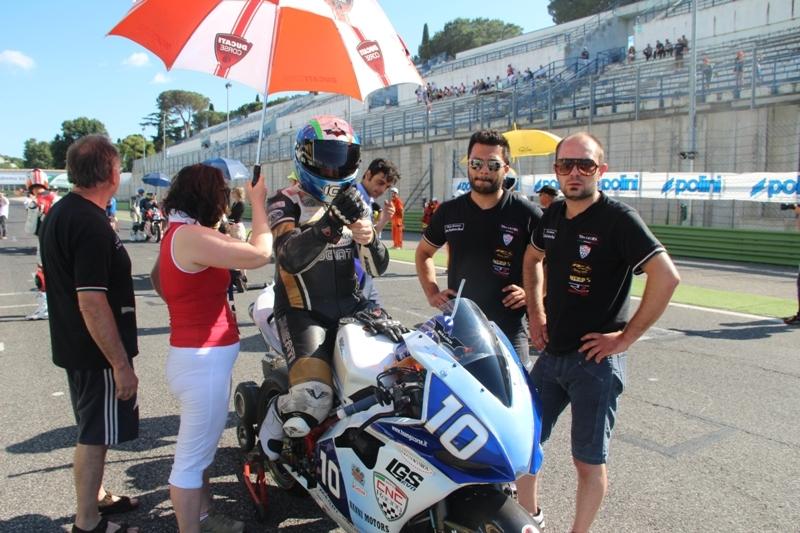 Simone Bulai conquista il podio del Campionato Super Twin