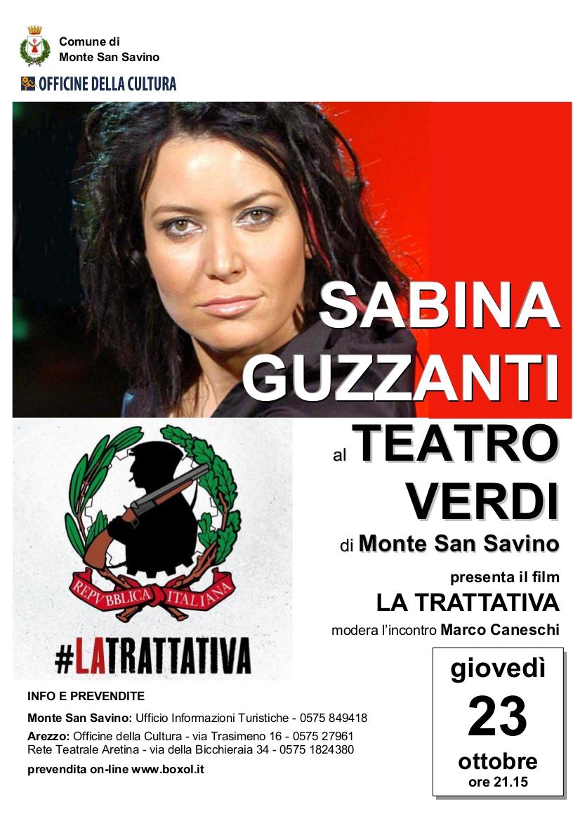 Scatta l'era digitale al Verdi di Monte San Savino, ospite speciale Sabina Guzzanti