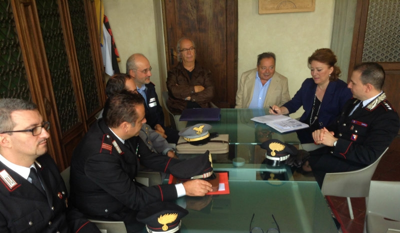 Monte San Savino, tavolo sicurezza, più pattugliamento del territorio anche di notte contro furti e rapine