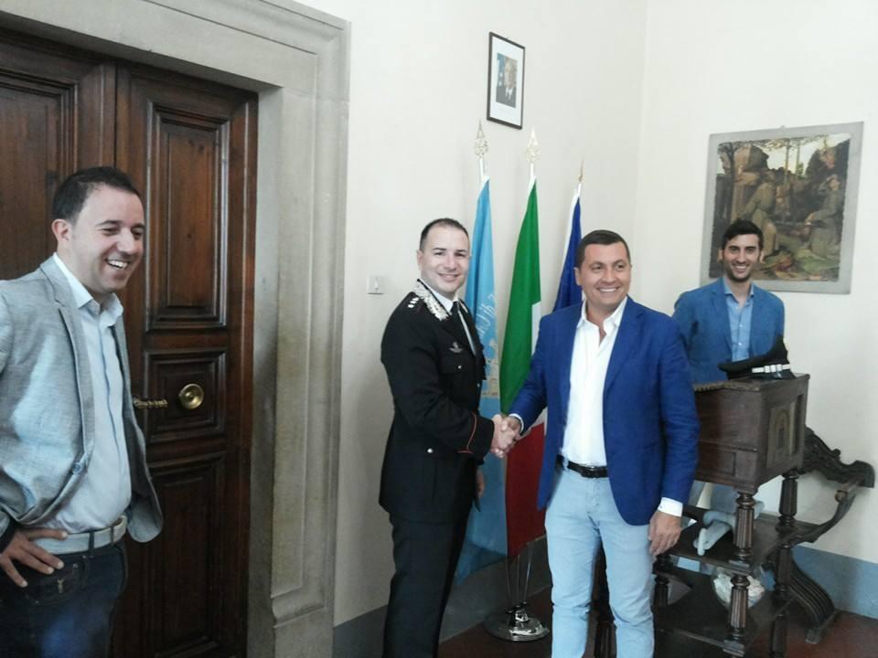 Castiglion Fiorentino conferisce la cittadinanza onoraria all'Arma dei Carabinieri