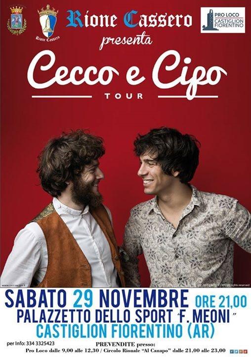 'Cecco e Cipo' in tour a Castiglion Fiorentino col Rione Cassero