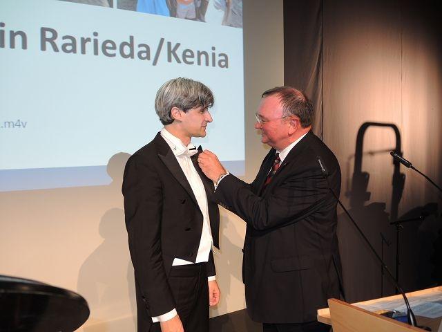 Onoreficienza per il pianista Attesti a Mennheim